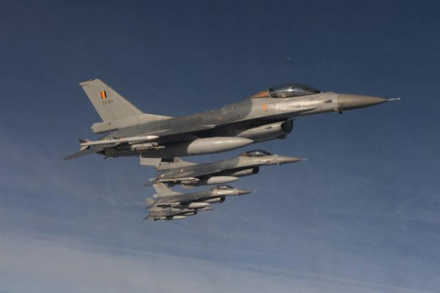 Belgium lower house approved RFP for F 16 fighters fleet replacement 640 001