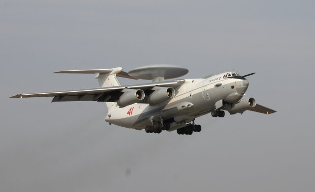 Russian Air Force takes delivery f fourth upgraded A 50U AEW C aircraft 640 001