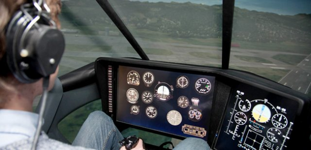 TsAGI introduces new VPS 5 flight simulator for helicopter crew 640 001