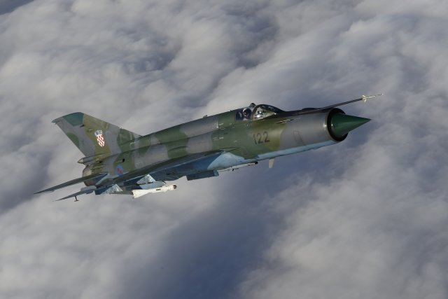 Croatian MoD downselects Israel bids to replace outdated MiG 21 640 001