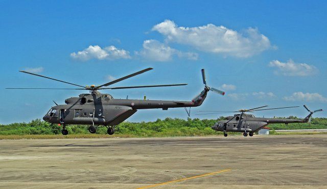 Defense and Security 2017 Thailand signs for two ore Mi 17V 5 multirole helicopters 640 001