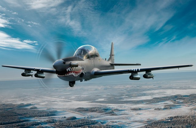 Embraer announces firm order from Philippines for 6 A 29 Super Tucanos 640 001