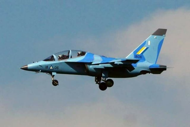 Myanmar Air Force received three more Yak 130 trainer jets 640 001