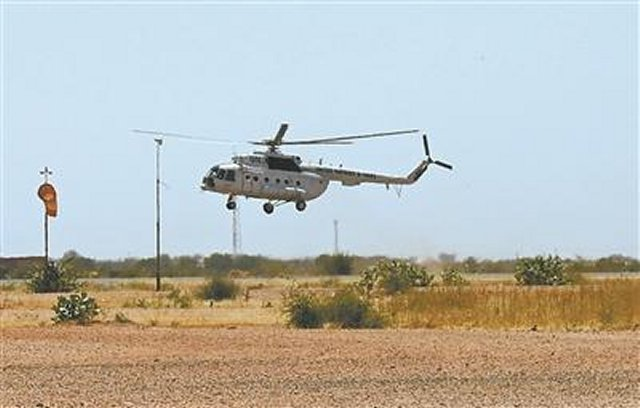 PLAAF Mi 171 helicopters start peacekeeping mission in Darfur 640 001