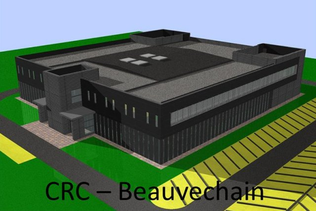 Protecting NATO airspace Belgium laid new CRC center first ston 640 001