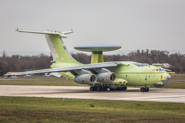 Russia A 100 EW C aircraft prototype makes maiden flight 640 001