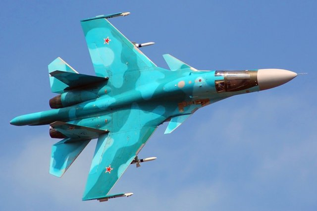 Russia considering one seat Su 34 ased aircraft to replace Su 25 fighter jet 640 001