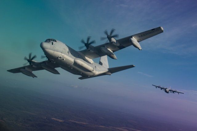 USMC KC 130J team introduces creative interim avionics upgrade 640 001