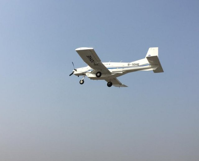 China largest cargo drone goes airborne 640 002