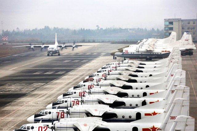 PLAAF exploring new logistics solutions with Chinese companies 640 001