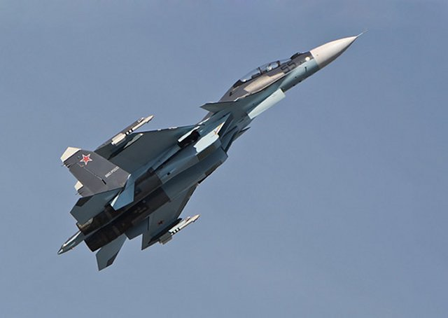 Russia Western Military Discrict Air Regiment receives more Su 30SM fighter jets 640 001