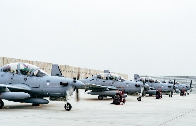 USAF adds six more aircraft to the A 29 Afghanistan Program 640 001
