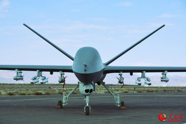 China CH 5 UAV successfully completes live firing 640 001