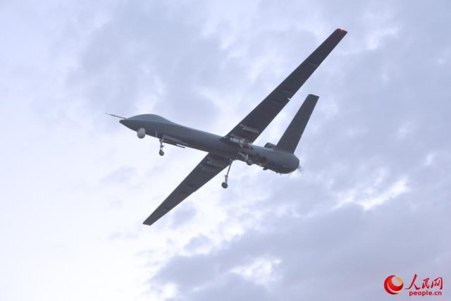 China CH 5 UAV successfully completes live firing 640 002