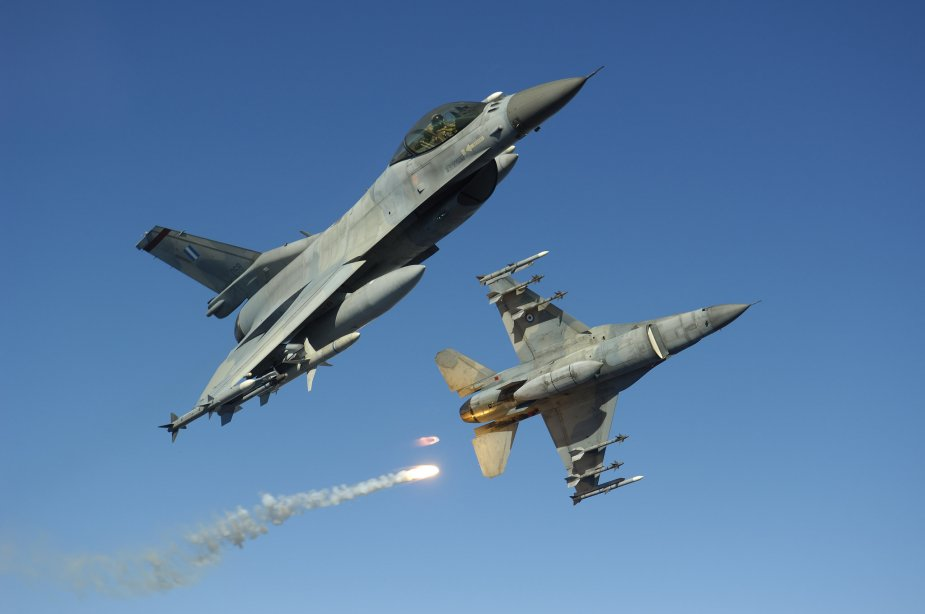 Greek government approves HAF F 16 fighters upgrade program