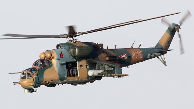 Russian Helicopters to overhaul Hungary s Mi 24V P combat helicopters 640 001