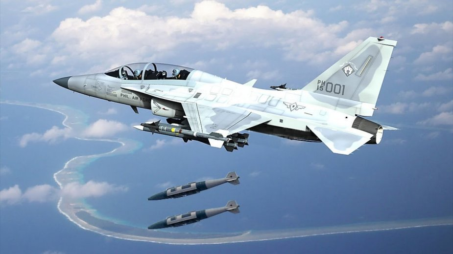 Philippine air force FA 50 jets join interoperability exercise in Palawan2