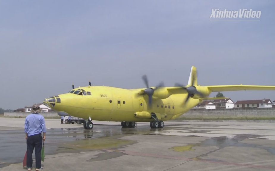 AVIC Y 8F200WA airlifter ready for delivery to Kazakhstan