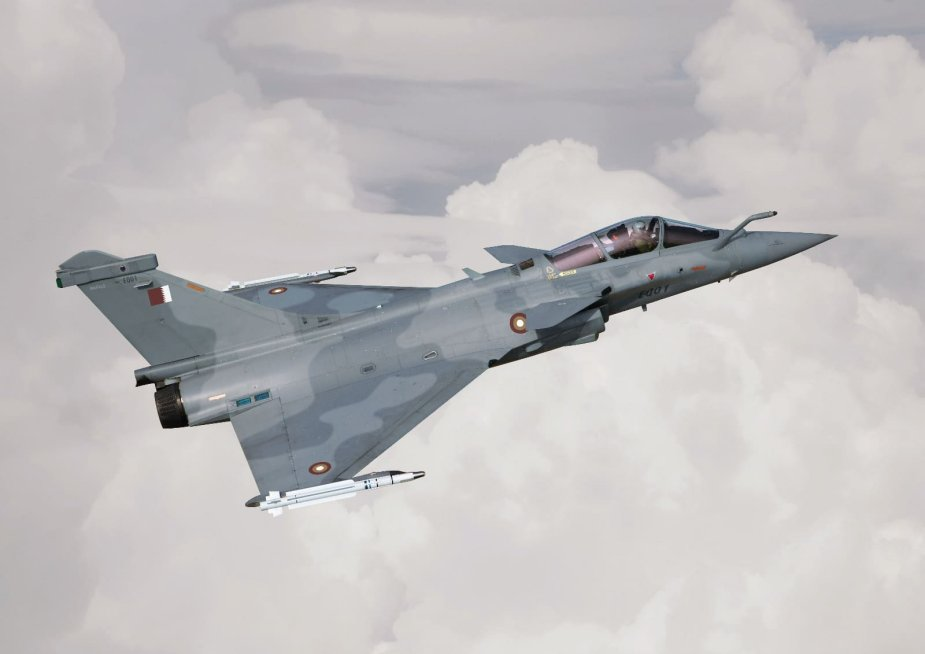 Qatar rmally orders 12 additional Rafale fighter jet 001