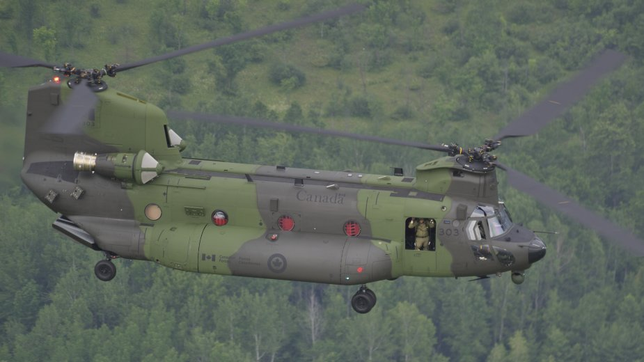 Canadian CH 146F and CH 147F helicopters to operate in Mali
