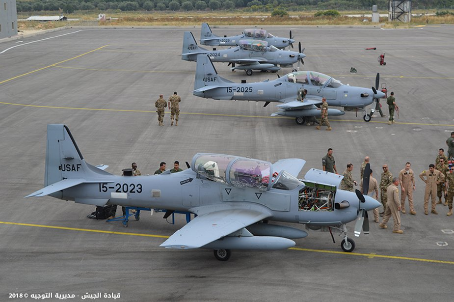 Lebanon takes delivery of four additional A 29 Super Tucanos 001