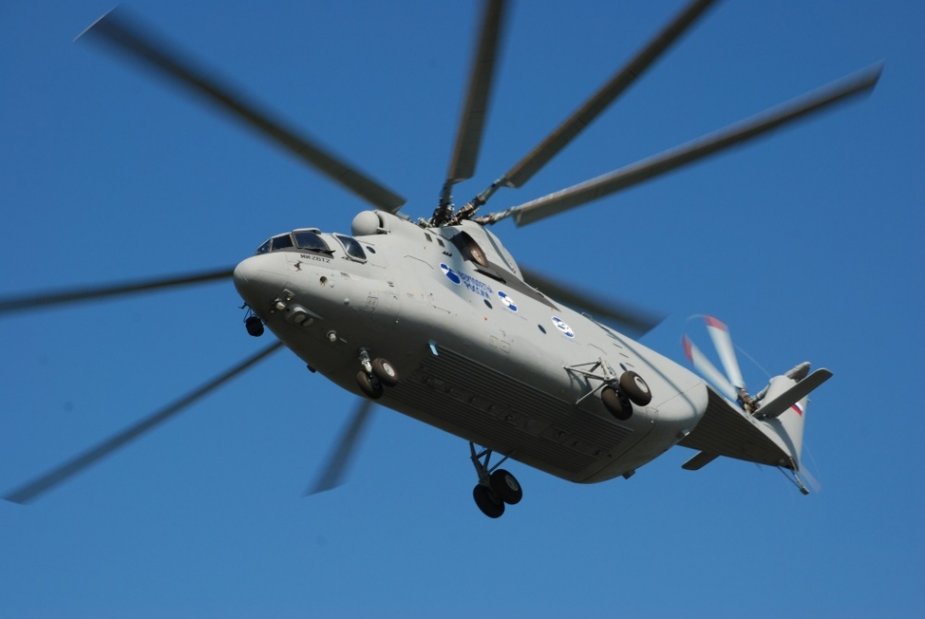 Russian Defense Ministry and Russian Helicopters discuss delivery of Mi 26T2V helicopters 001