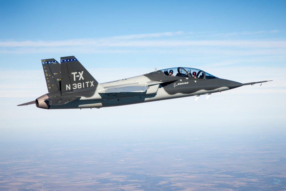 Saab receives initial order for USAF T X trainer EMD phase 001