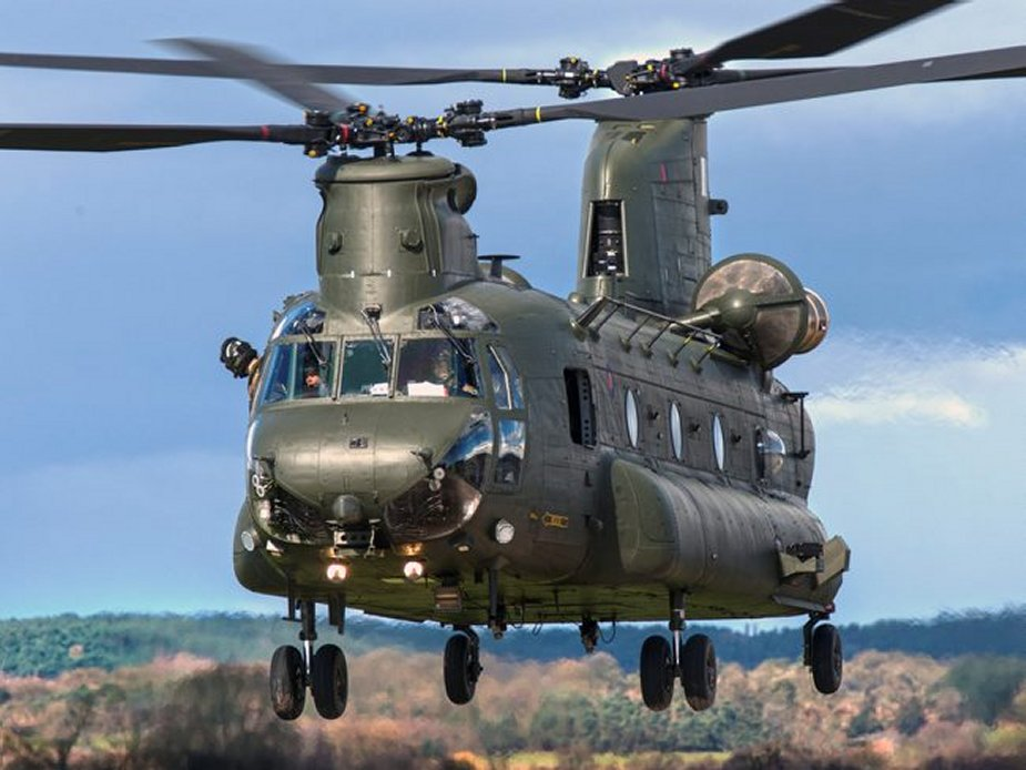 UK requests 3 5 bn FMS for additional Chinook helicopters 001
