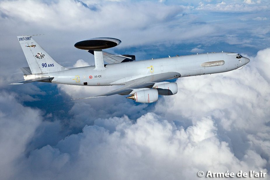 French Boeing E 3 AWACS fleet to receive software upgrades