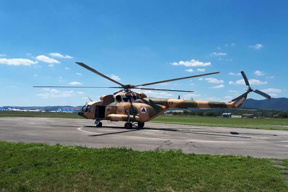 LOTN completes overhaul of first Mi 17V 5 for the AAF 001