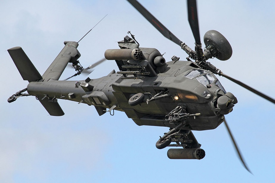 Apache attack helicopters deployed in Estonia