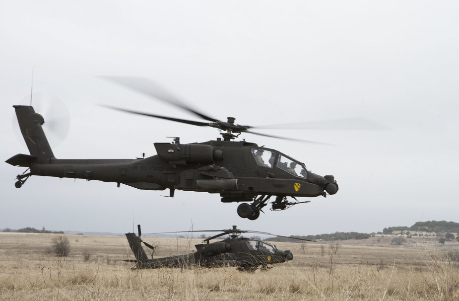 US Army awards Boeing 155M for Apache AH 64E helicopters