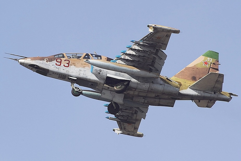 Russia upgrades Su 25 assault jets part 2