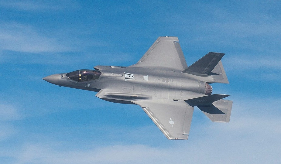 F 35A formally enters South Korean service