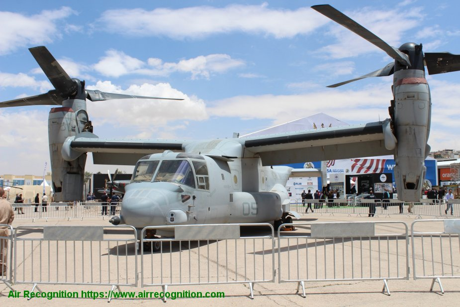 Bell Boeing awarded support contract for V 22 aircraft from the US