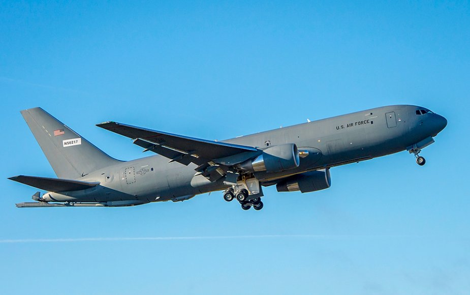 Boeing to deliver KC 46A Pegasus tanker aircraft to the US Air Force 925 001