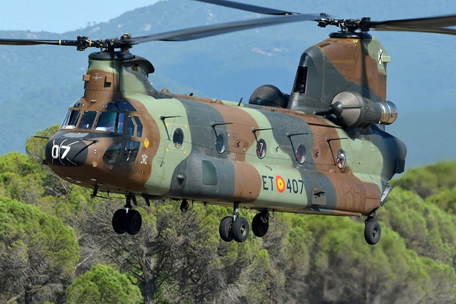Boeing to modernize entire fleet of Spanish CH 47F Chinook helicopter fleet