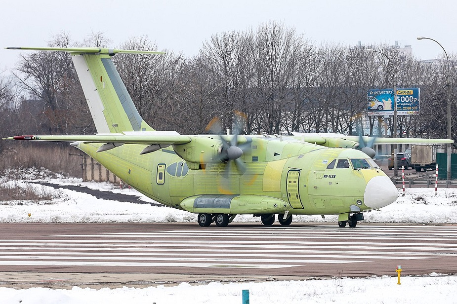 Il 112V military transport aircraft will make its second flight early in 2020
