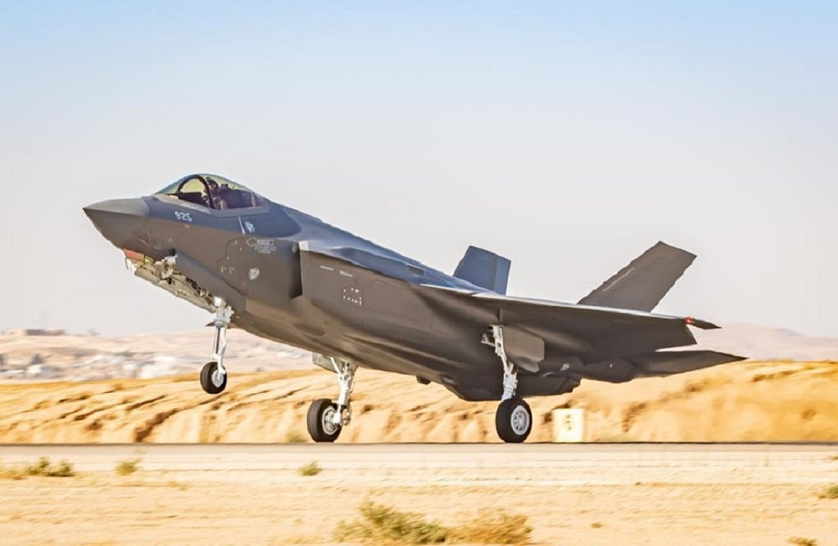 Israel Air Force receives 2 new F 35 Adir fighter jets
