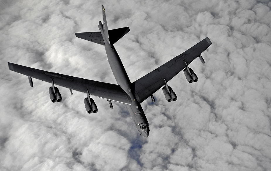 Raytheon selected for B 52 AESA radar upgrade