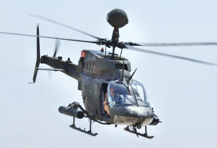 Greece recieved 70 Bell OH 58D Kiowa helicopters