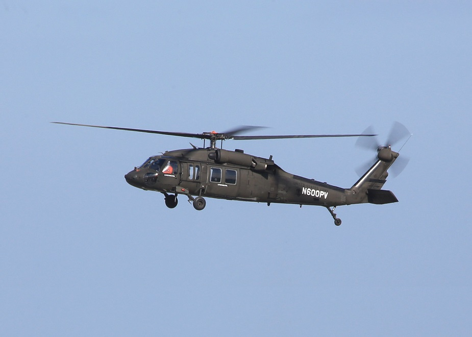Sikorsky Black Hawk first flight using newest Fly By Wire technology