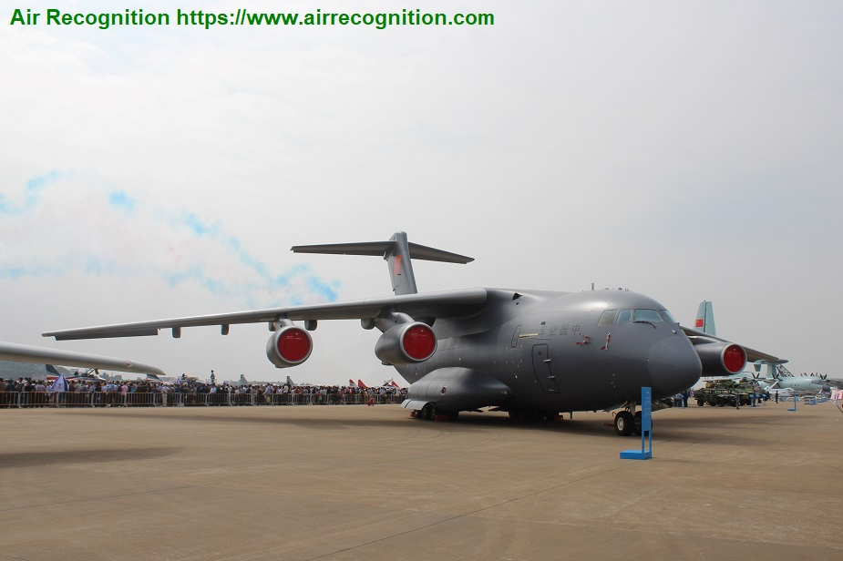 China developing variants of Y 20 large transport aircraft