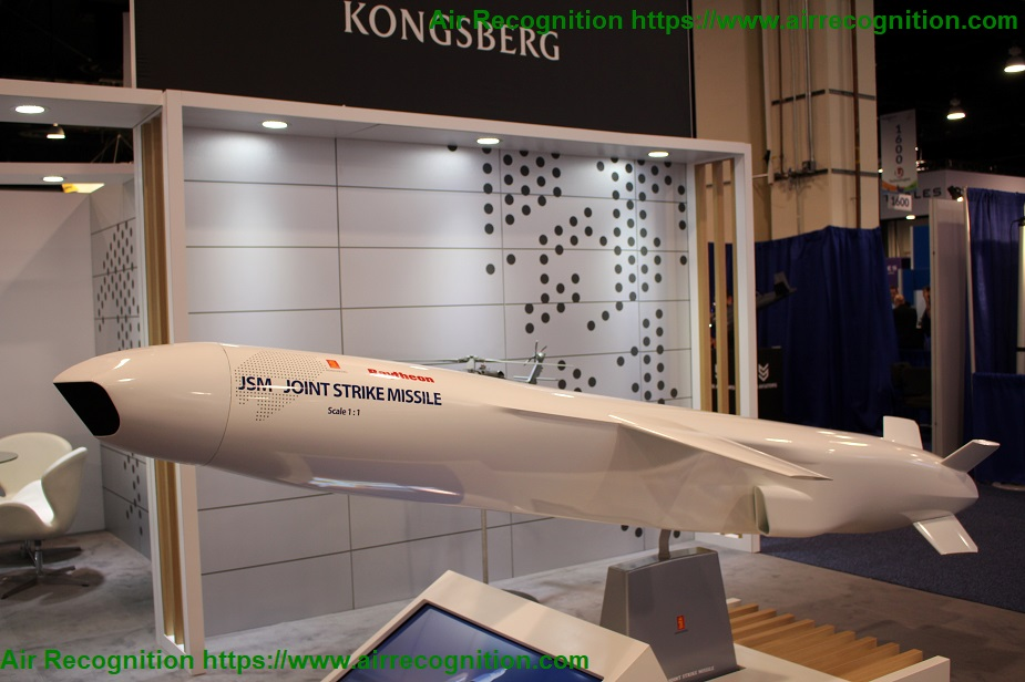 Kongsberg awarded JSM Joint Strike Missile contract with Japan