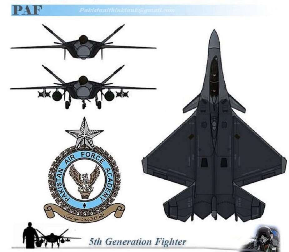 Pakistans indigenous fifth generation fighter aircraft completes initial conceptual design phase