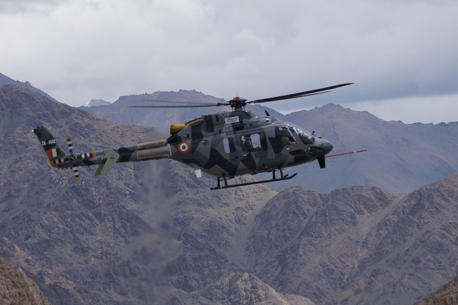 Indian Light Utility Helicopter clears high weather tests at Himalayas