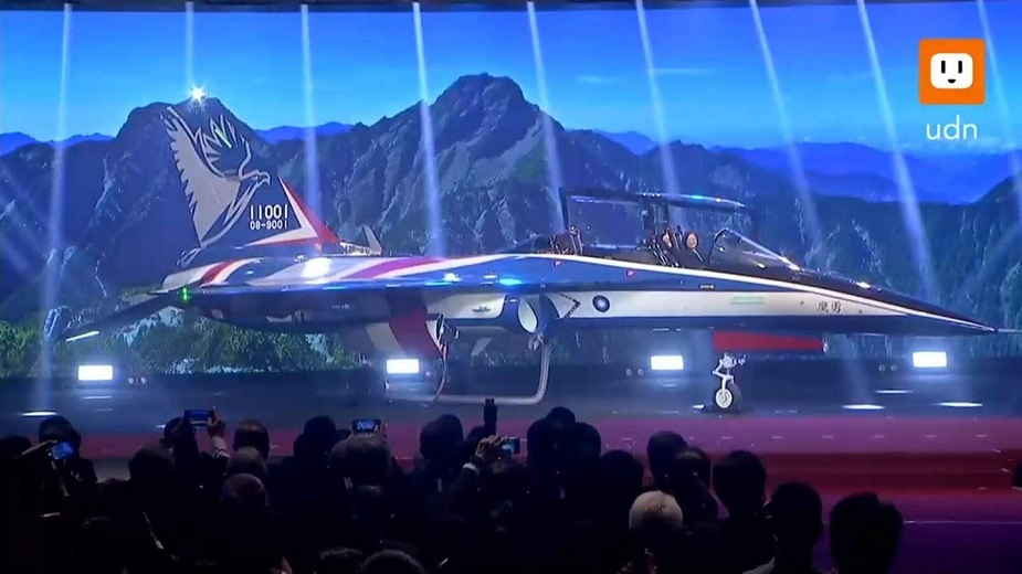 Taiwan unveils new advanced jet trainer prototype