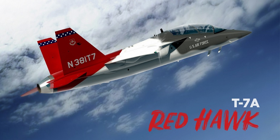 US Air Force announces newest trainer aircraft T 7A Red Hawk