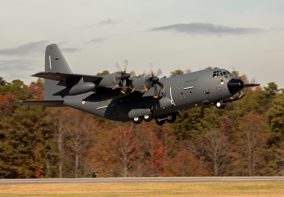 Lockheed Martin delivers second KC 130J aerial refueler to French Air Force