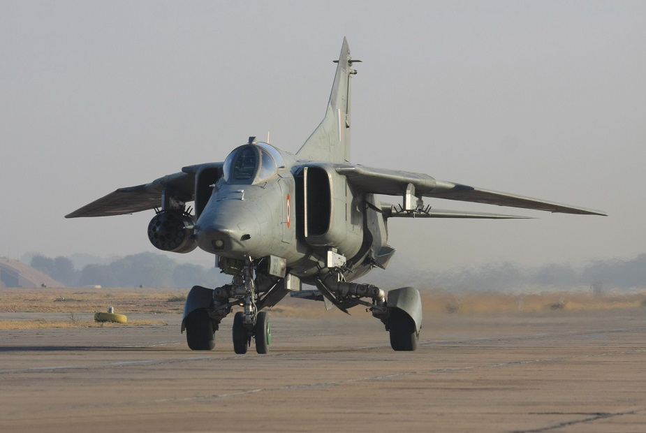 Indian Air Force retires its MiG 27 01